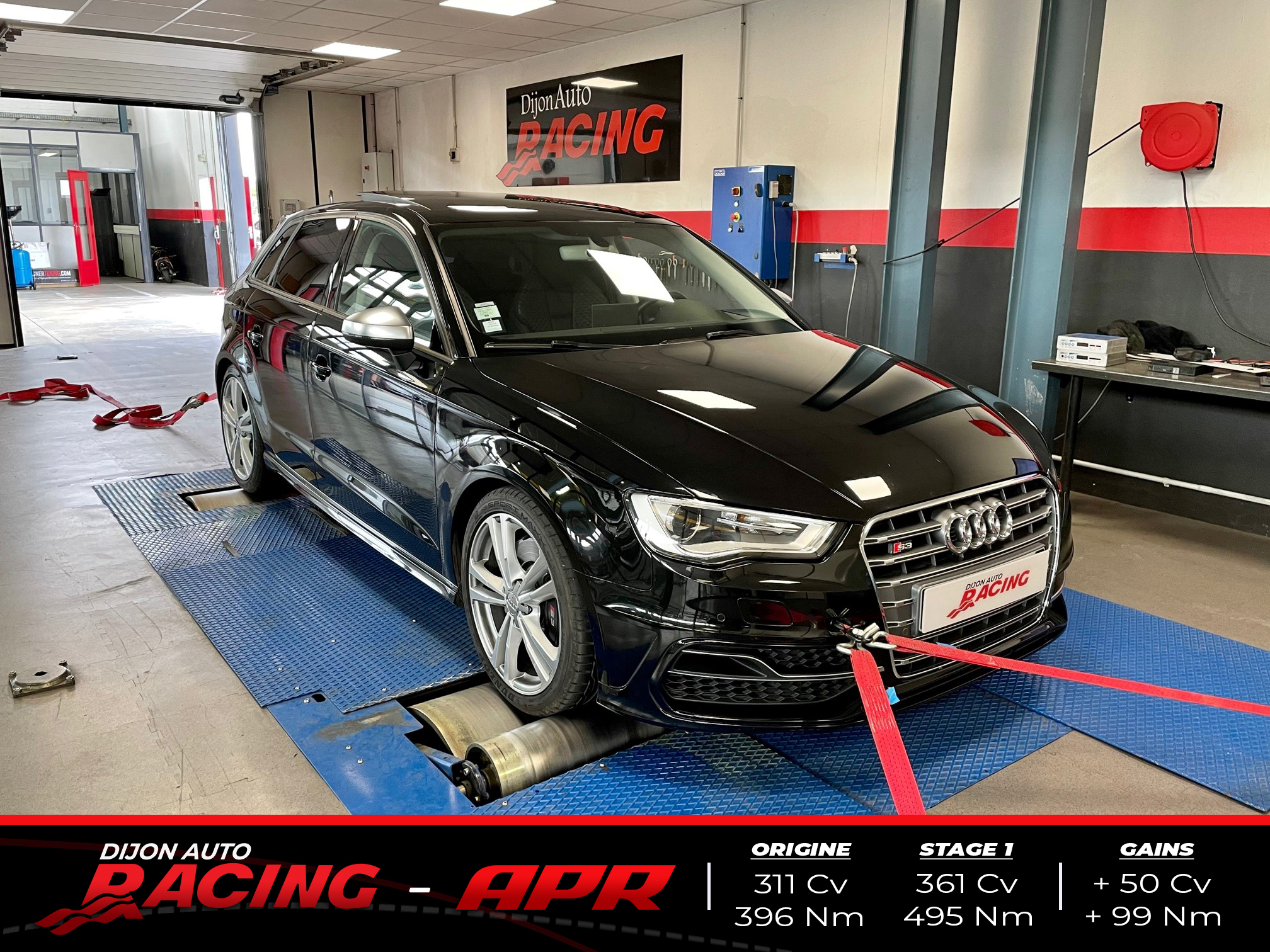 Reprogrammation Stage 1 APR   Audi S3 8V